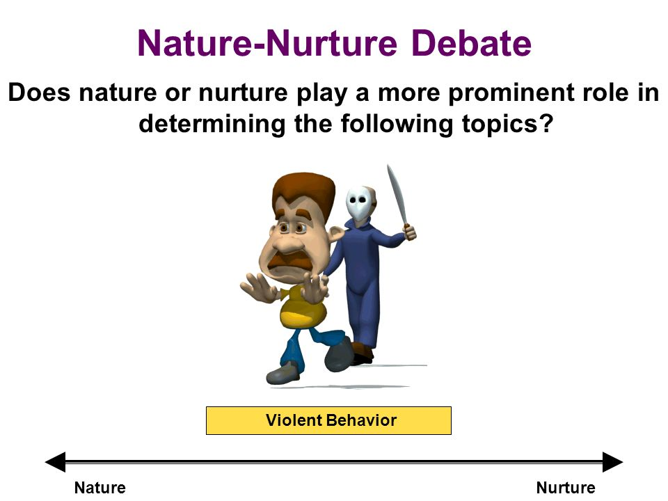 nurture debate does nature or nurture play a more prominent role in ...
