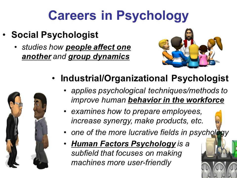 career investigation into psychology