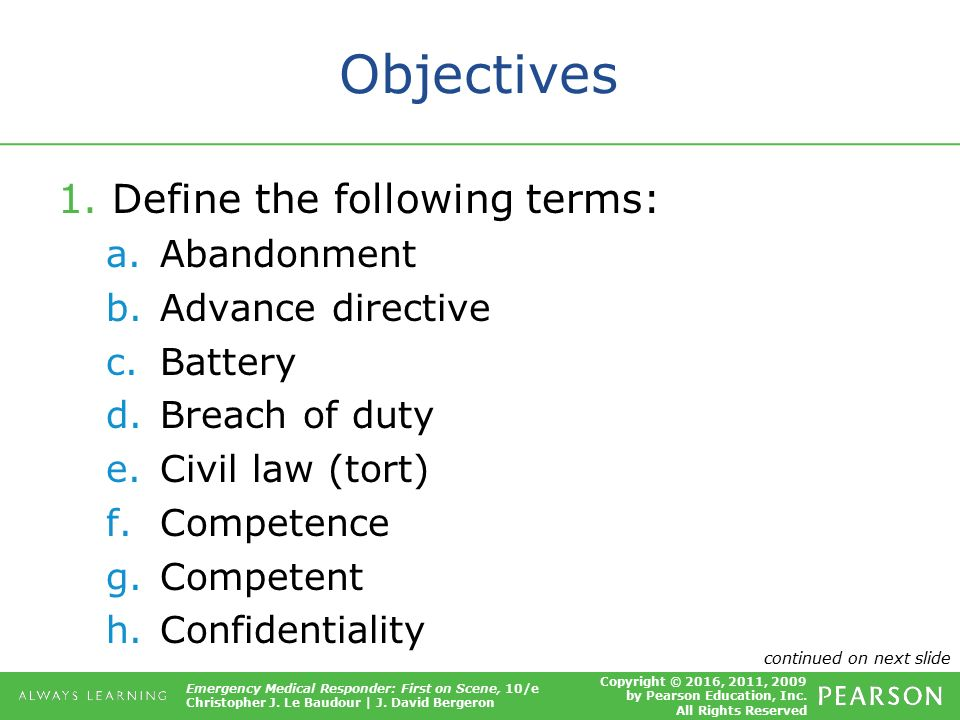 objectives of tort law pdf