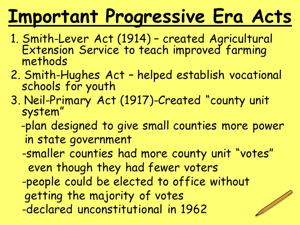 facts about the progressive era Progressive era reformers believed that child labor was detrimental to children and to society they believed that children should be.