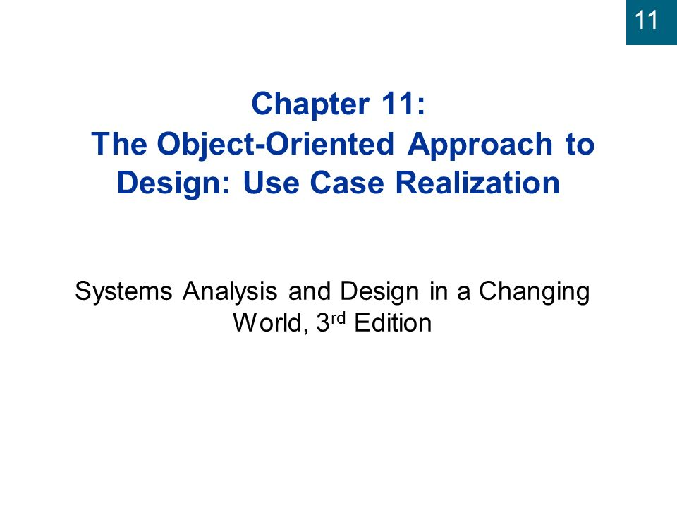 Systems Analysis And Design In A Changing World 3rd Edition Ppt Video Online Download