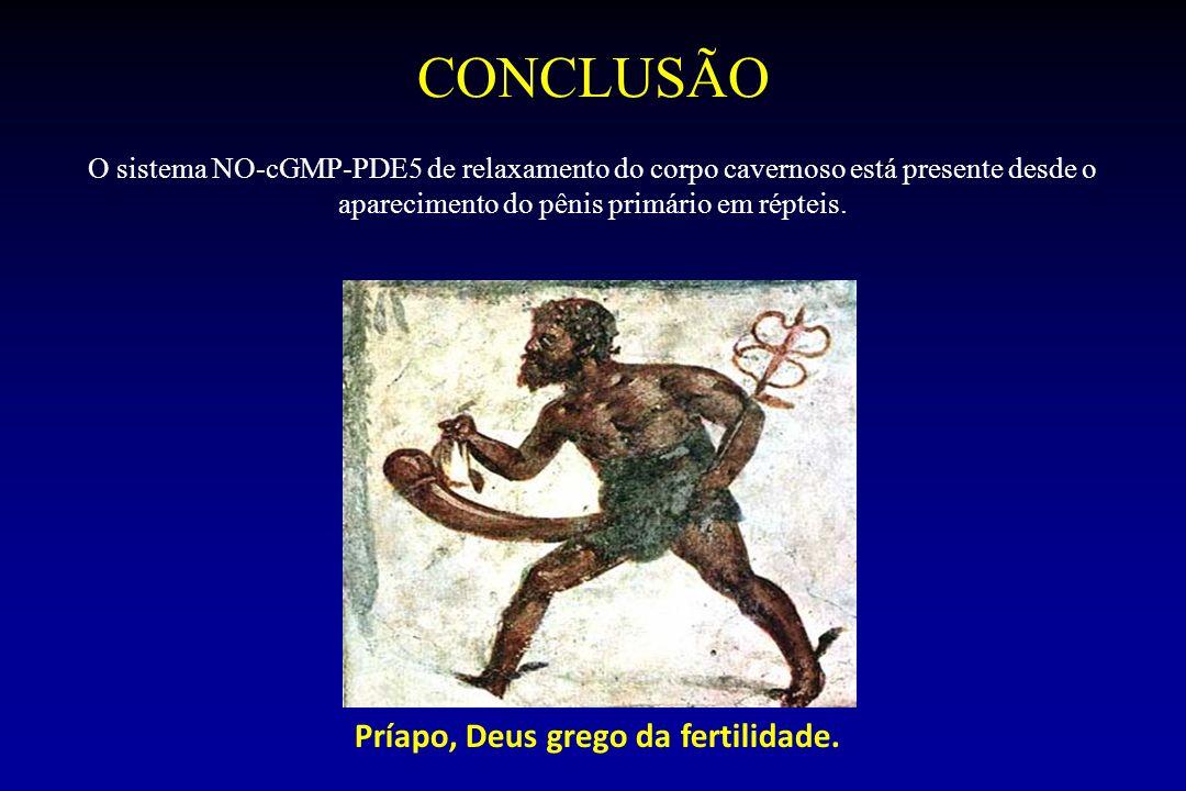 Príapo, Deus grego da fertilidade.