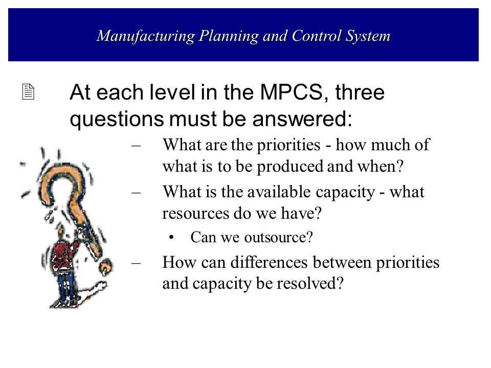 difference between production planning and production control pdf