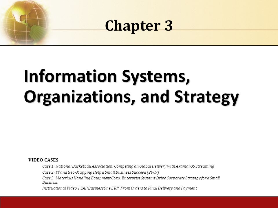 information systems in organizations Keywords: organizational design, information systems, economics information systems and the organization of modern enterprise abstract this paper, and the special issue, address relationships between information systems and changes in the organization of modern enterprise, both within and across firms.