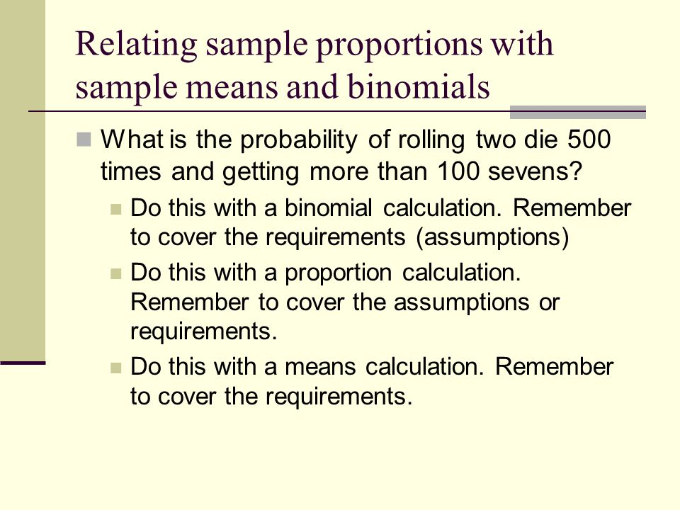Sampling distributions - ppt download