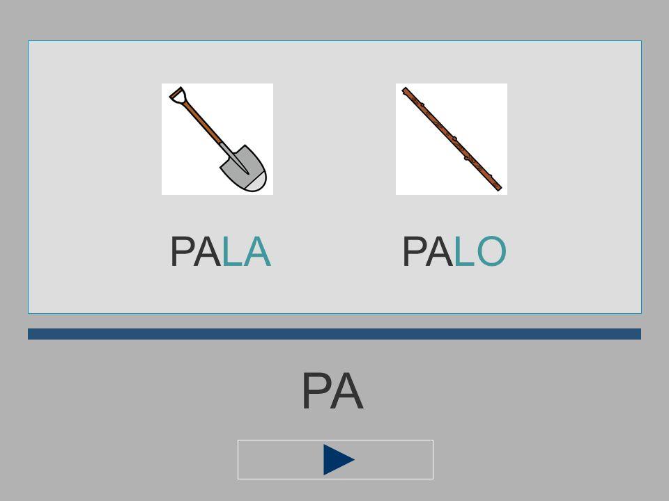 PALA PALO PA