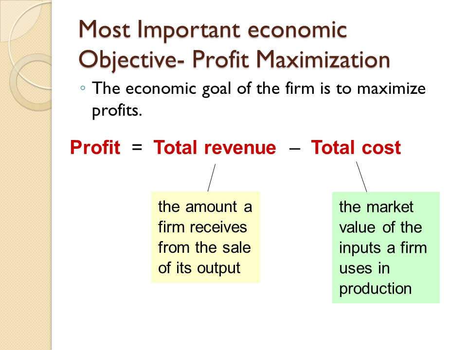 an analysis of the concept of amalgamate and the profit maximization Ensuring maximization of profits by executing  maximizing the profit through various means  intensive application engineering to amalgamate products.