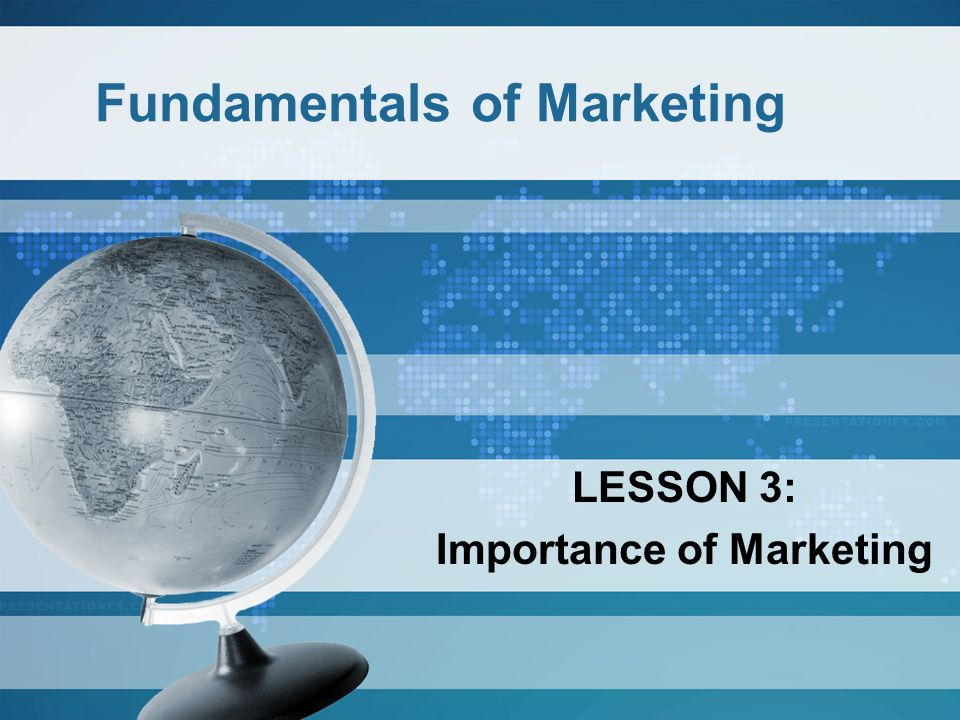Fundamentals of Marketing: Your Action Plan for Success