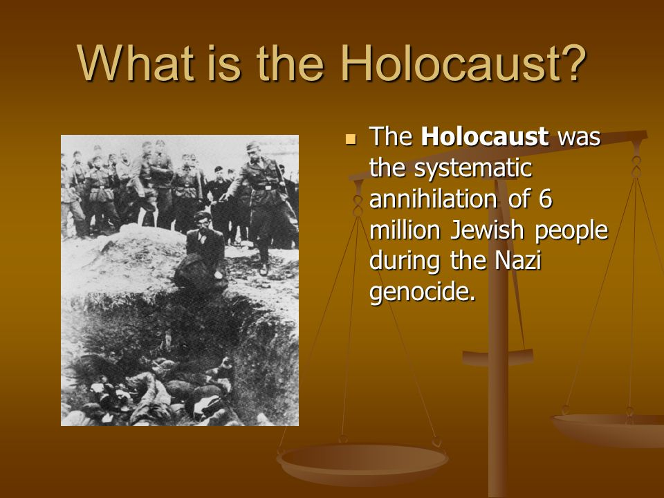 the question of why the holocaust happened A study of the holocaust night by elie wiesel new york questions and answers why did people in wiesel's village refuse to believe the warnings of moshe the.