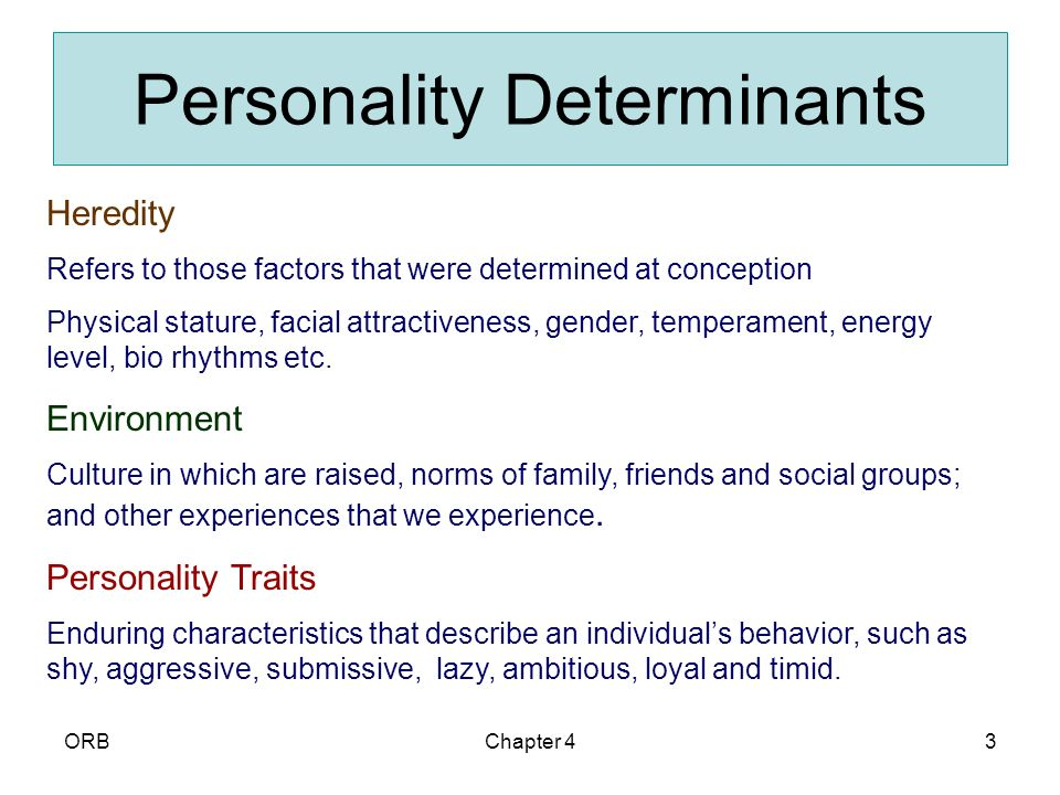 can personality traits predict ones academic performance These results can help teachers and students to  these factors predicted a  large amount of  to obtain a comprehensive view of one's personality, more  than just one.