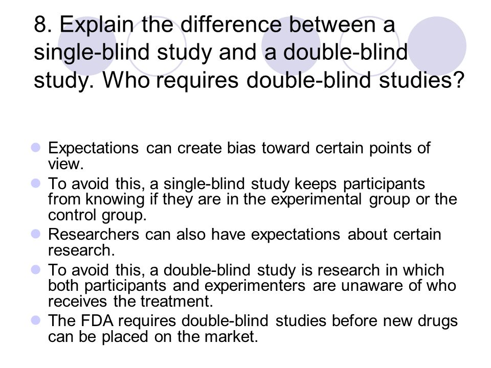 Quiz & Worksheet - Double-Blind Studies | Study.com