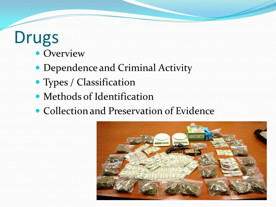 Collection methods of criminal datat