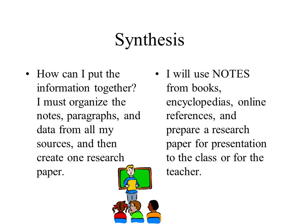putting notes for research paper together An outline for a research paper is a visual reminder to include all of the pertinent details of your research into your essay or paper it is essentially a skeletal version of the true paper, and will guide you through the entire process.