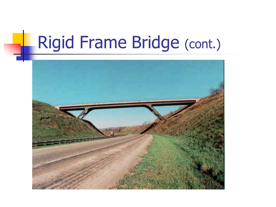 Rigid Frame Bridge (cont.)