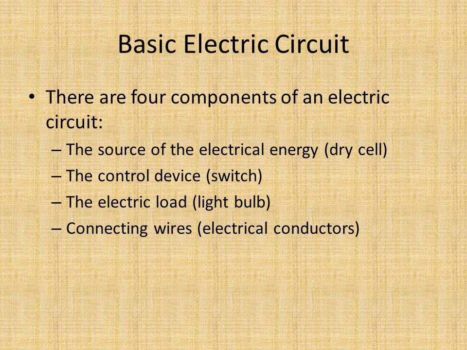 Magnificent Car Starter Circuit Diagram Thin Car Security System Wiring Diagram Rectangular 5 Way Switch Guitar Dimarzio Dp Youthful Automotive Service Bulletins ColouredSolar Battery Wiring Diagram Electricity And Electric Circuits   Ppt Video Online Download