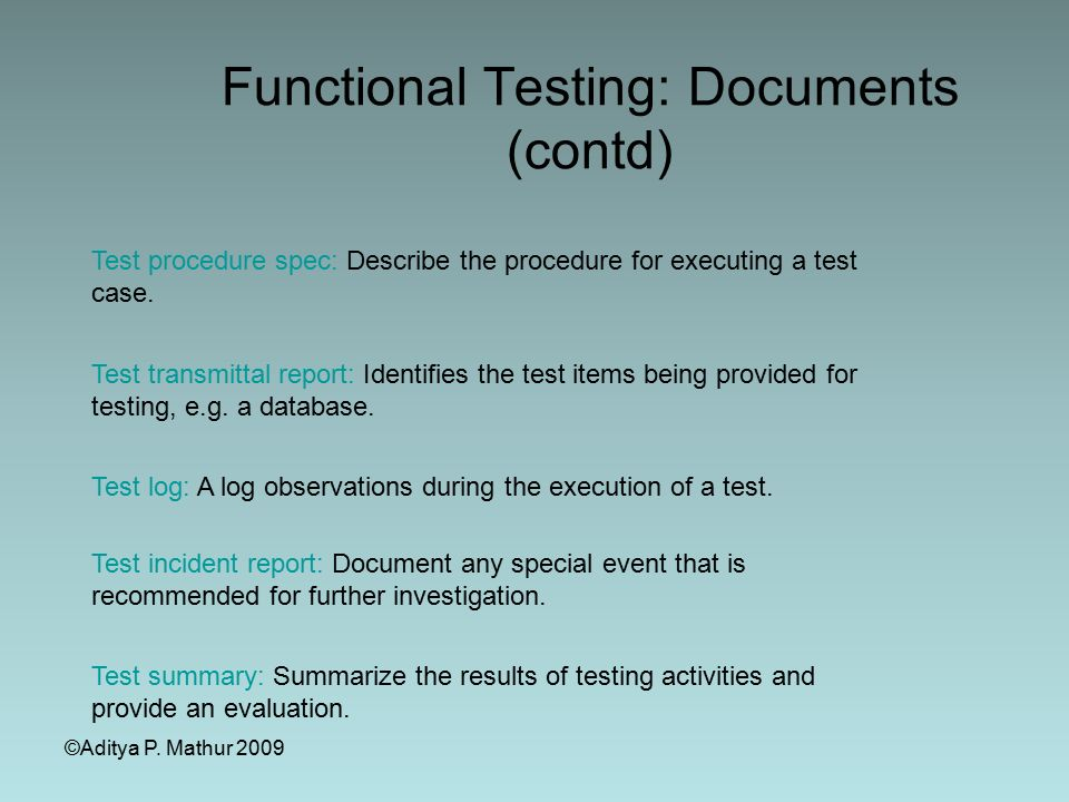 Software Testing And Validation Sqa - Swe Ppt Download