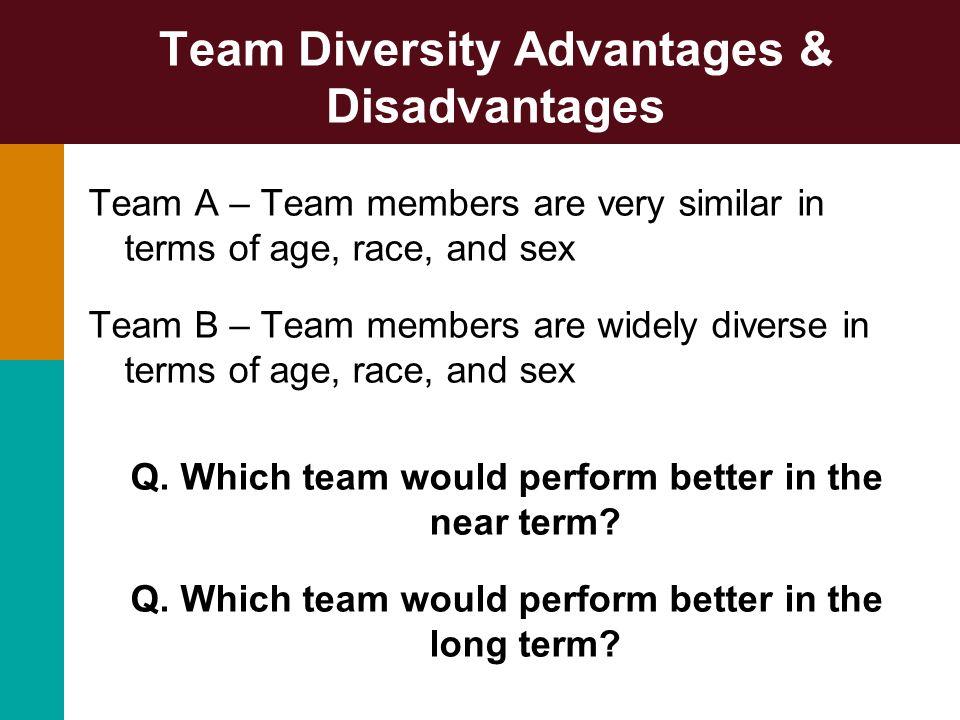 Team Diversity Advantages & Disadvantages