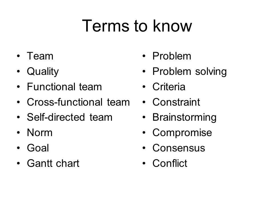 functional analysis of team problem solving Definition of problem solving team: a group of individuals assembled to work on a project that involves resolving one or more gap analysis core.