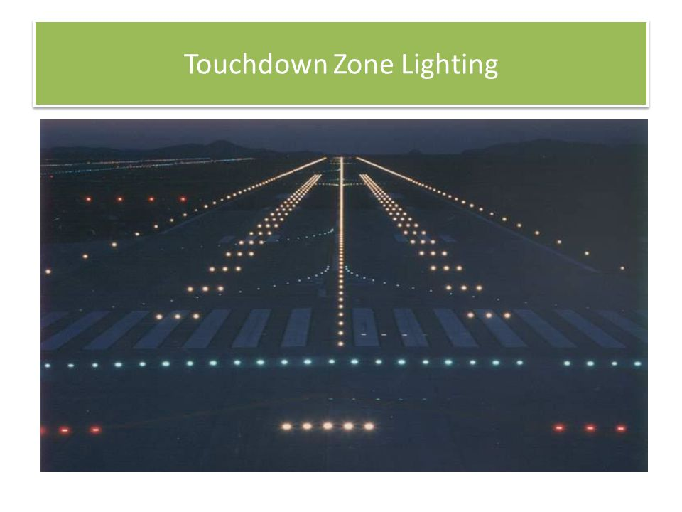 54 Touchdown Zone Lighting  sc 1 st  SlidePlayer & Airport Lighting Markings and Sign Systems - ppt video online ... azcodes.com