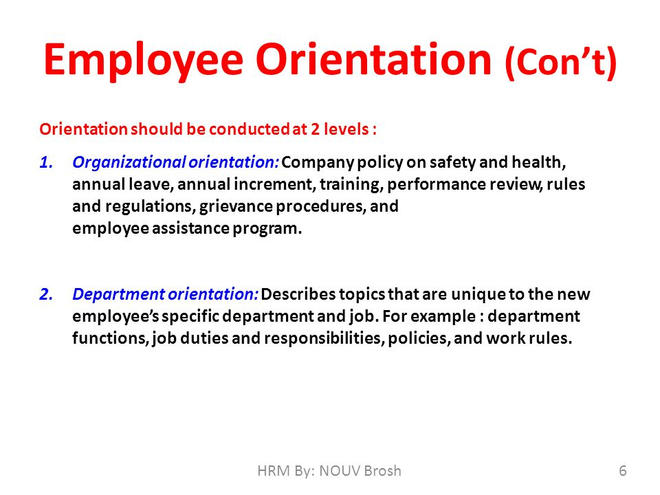 on the job training orientation and Orientation and training provide an understanding into the company or process as relevant, but the duration and the depth of the subject matter will differ both orientation and training are important to an employee as well as to the company.