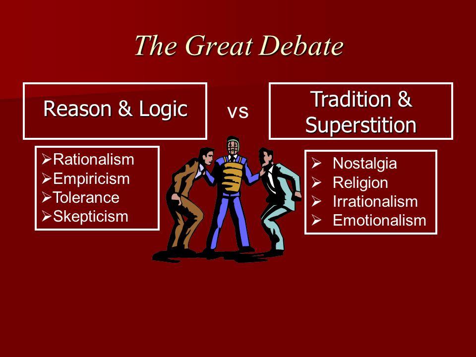 the great debate, science vs religion essay