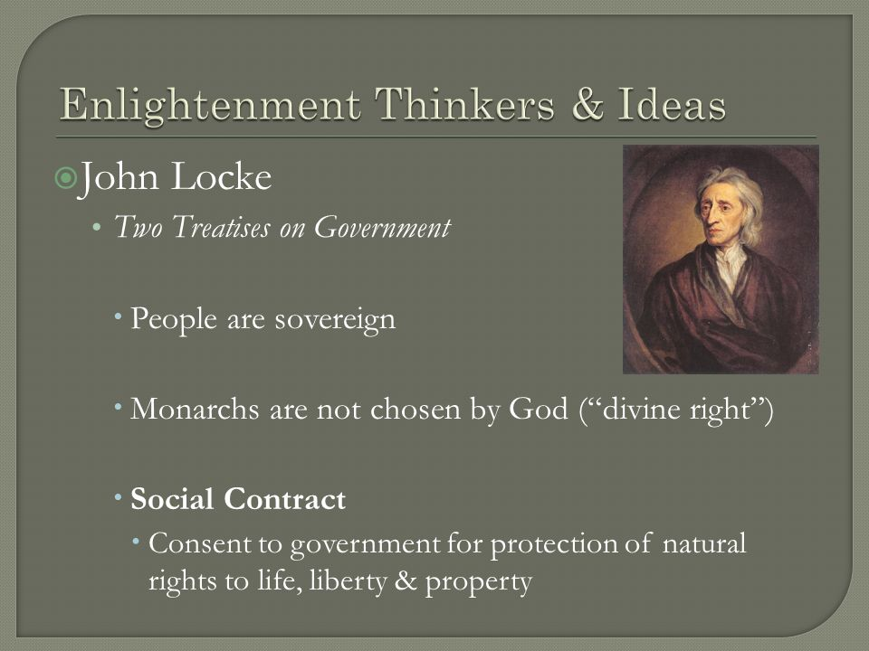 enlightenment thinkers Jean-jacques rousseau was one of the most influential thinkers during the enlightenment in eighteenth century europe his first major philosophical work, a discourse on the sciences and arts, was the winning response to an essay contest conducted by the academy of dijon in 1750 in this work.