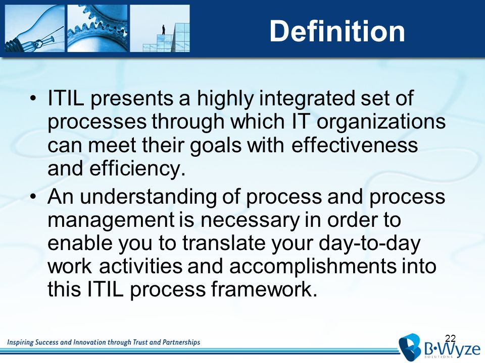 Information technology infrastructure library v3 ppt download 22 definition itil malvernweather Images