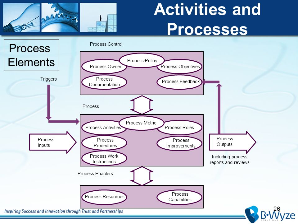 processes procedures and work instructions