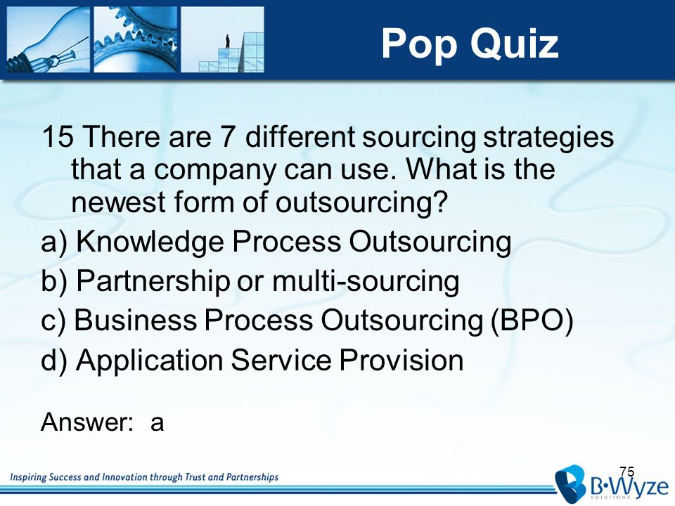 strategy management pop quiz Pop quiz: while many new teachers say that classroom management and  discipline are their biggest issues, there are many positive ways to organize and .
