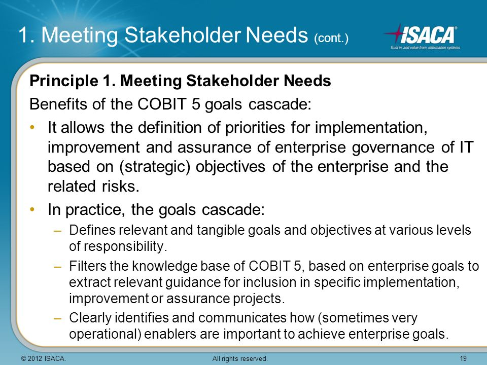 meeting stakeholder needs and goals in business • present the preliminary project goals and  identifies transportation needs, determines project goals and  stakeholder particip ation group meeting #2.