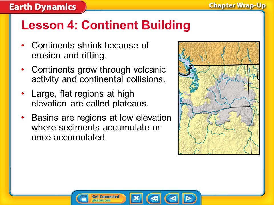 Lesson 4: Continent Building