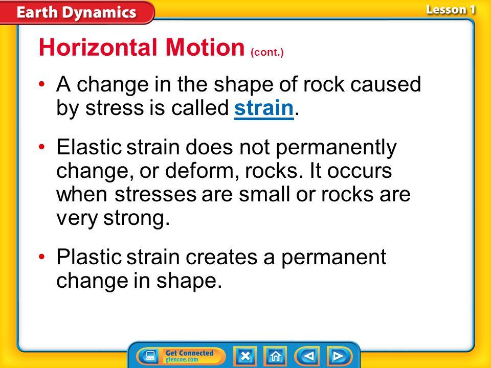 Horizontal Motion (cont.)