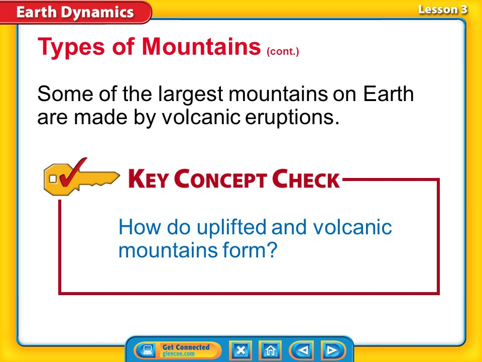 Types of Mountains (cont.)