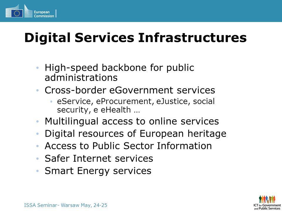 Digital Services Infrastructures