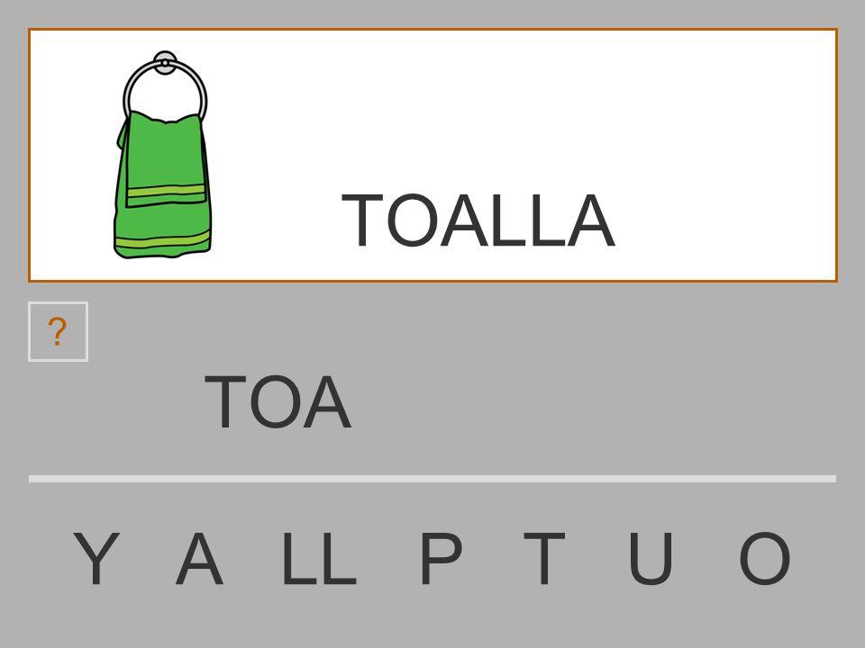 TOALLA TOA Y A LL P T U O