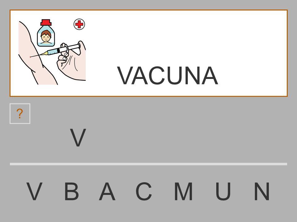 VACUNA V V B A C M U N