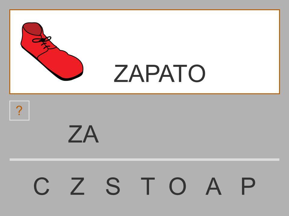 ZAPATO ZA C Z S T O A P