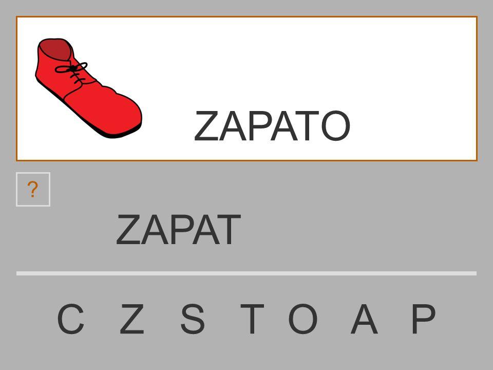 ZAPATO ZAPAT C Z S T O A P