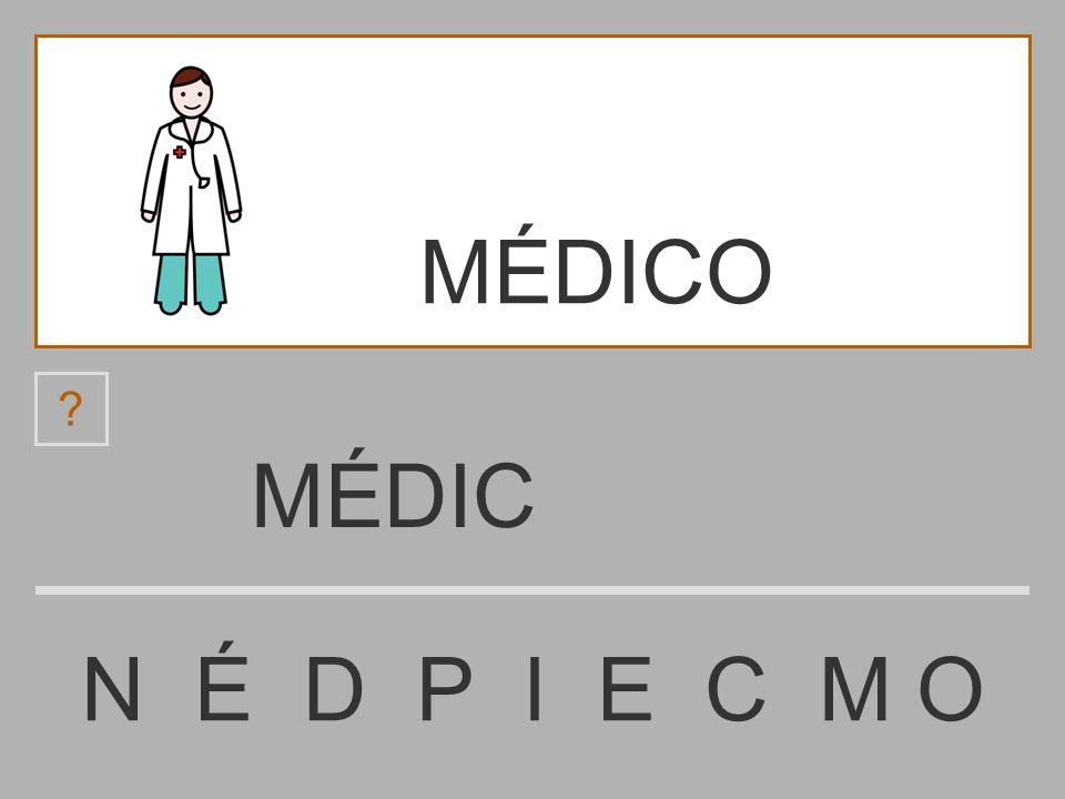 MÉDICO MÉDIC N É D P I E C M O