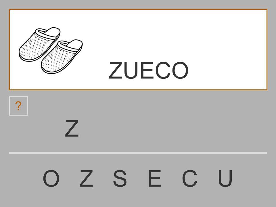 ZUECO Z O Z S E C U