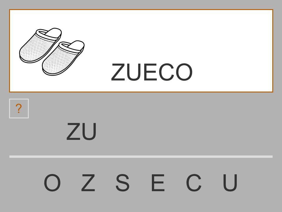 ZUECO ZU O Z S E C U
