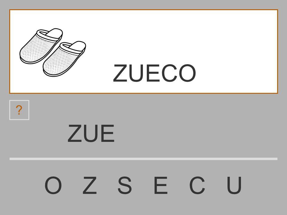 ZUECO ZUE O Z S E C U