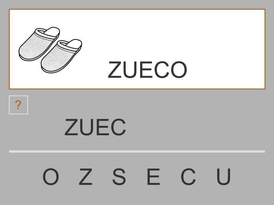 ZUECO ZUEC O Z S E C U