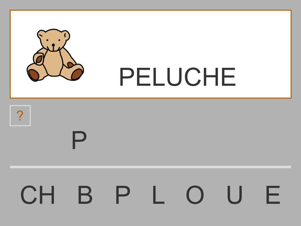 PELUCHE P CH B P L O U E