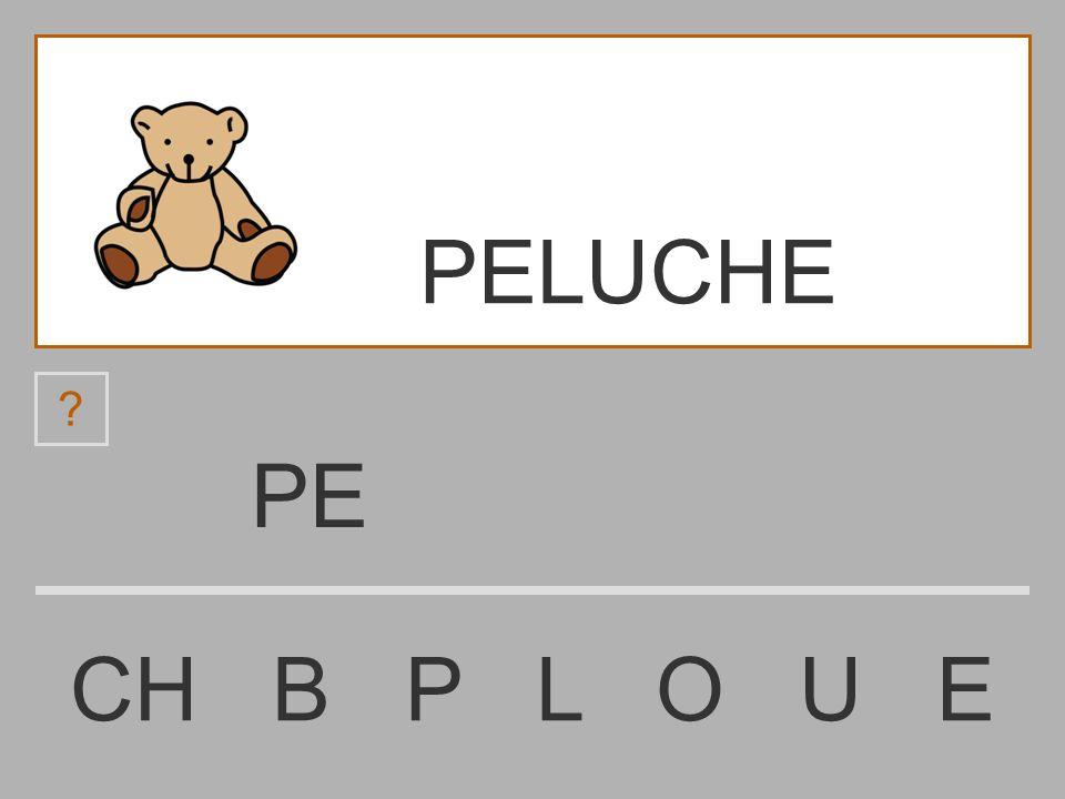 PELUCHE PE CH B P L O U E