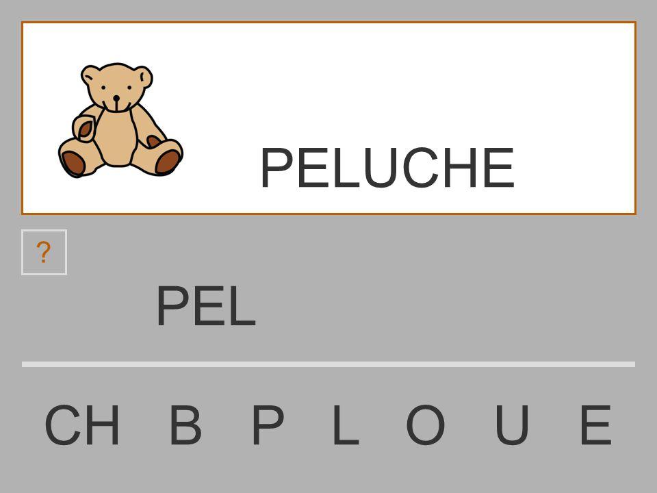 PELUCHE PEL CH B P L O U E