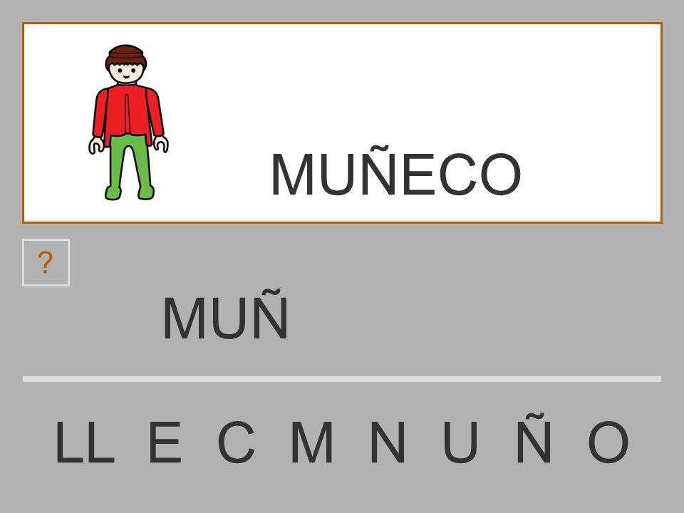 MUÑECO MUÑ LL E C M N U Ñ O