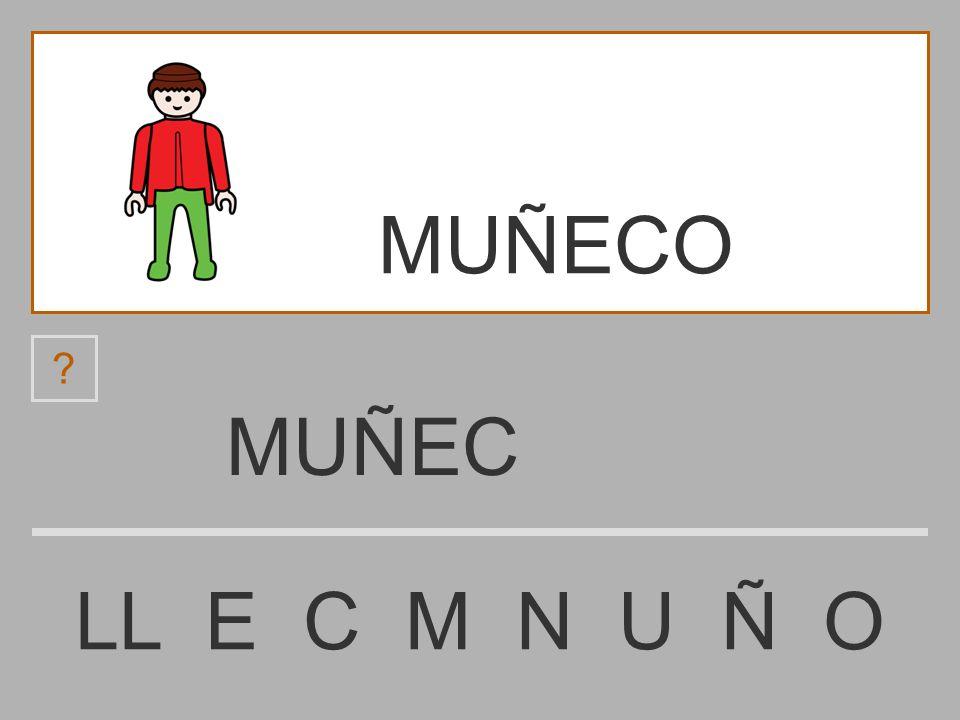 MUÑECO MUÑEC LL E C M N U Ñ O