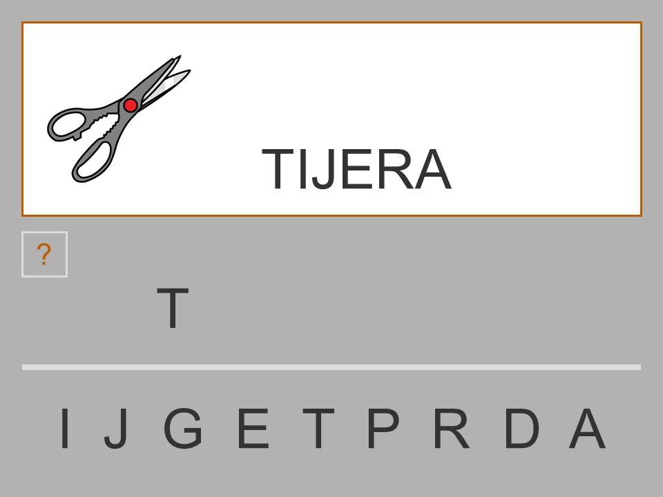 TIJERA T I J G E T P R D A