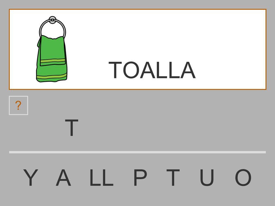 TOALLA T Y A LL P T U O